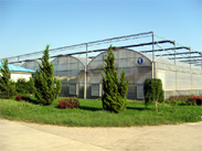 View of Greenhouse R&D base